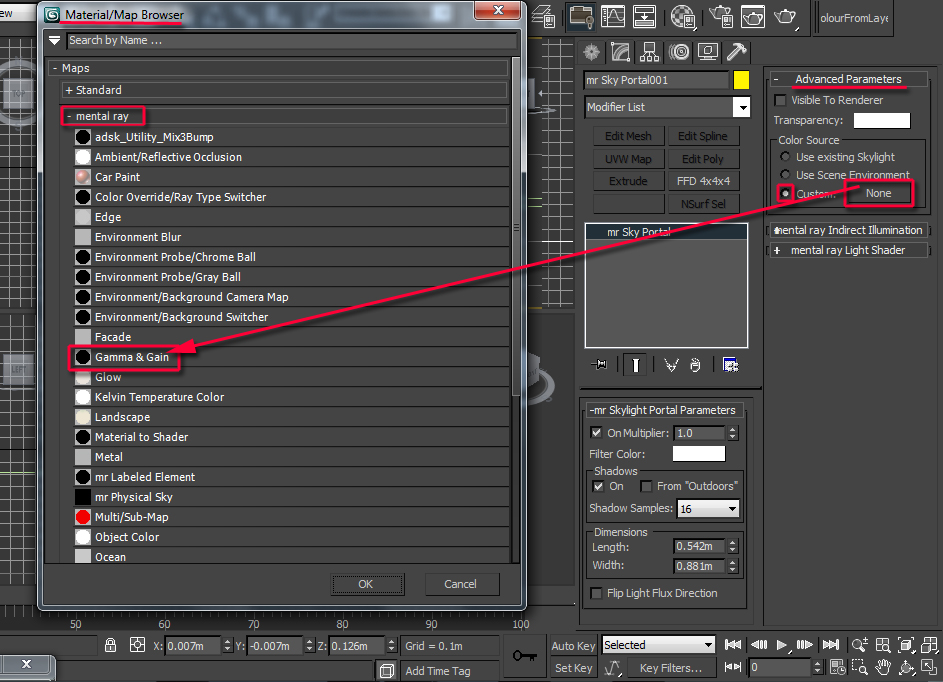 how to get hte tecture set window open 3ds max