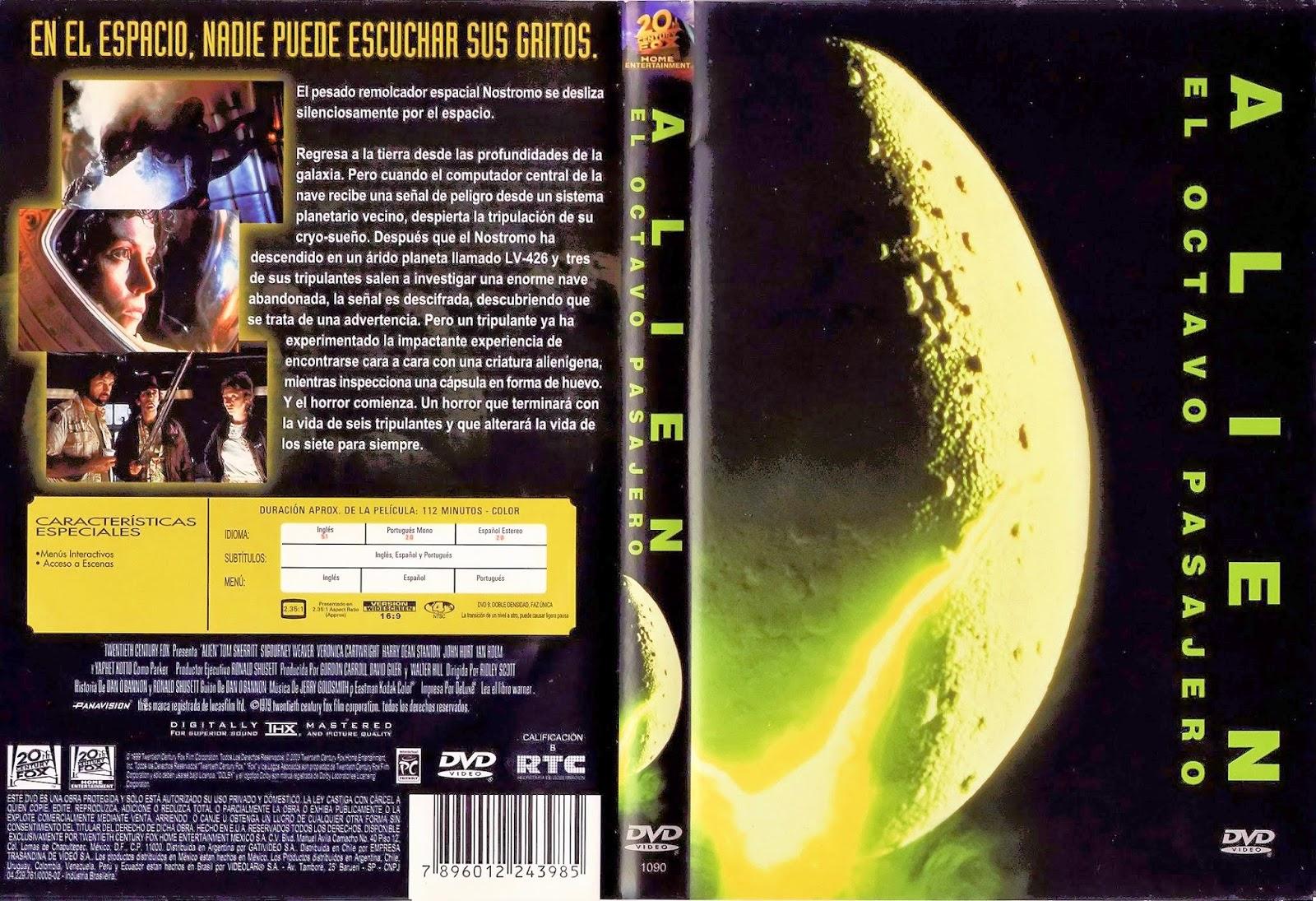 Alien El Octavo Pasajero DVD