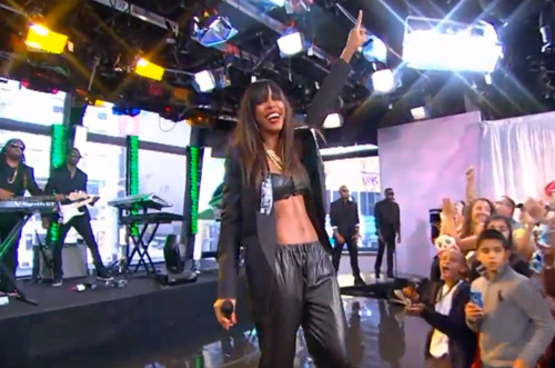 Good Morning America Performances : Here it is a longer look at kelly rowland s 'dirty laundry