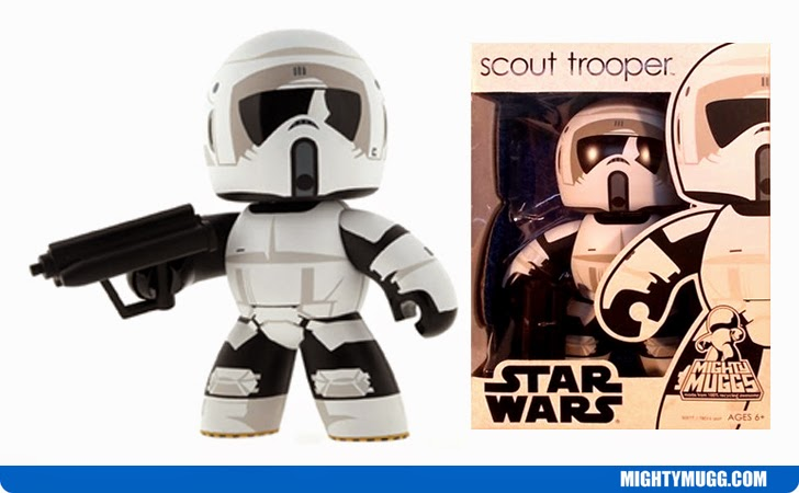 Scout Trooper Star Wars Mighty Muggs Wave 9