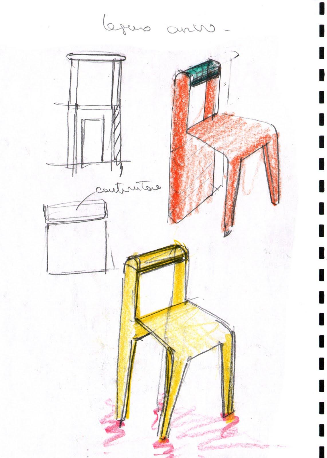 Vent 39 anni di disegni dell 39 arch antonio saporito disegni for Sedie decorate a mano