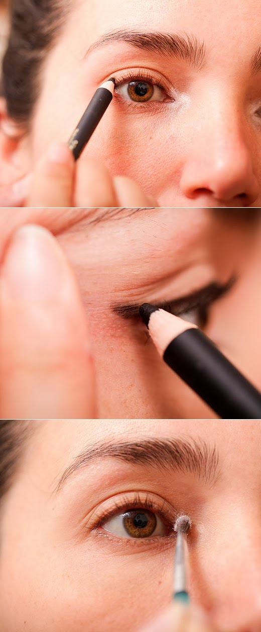 How to use makeup to make eyes look bigger