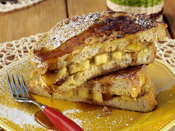 My Favorite Things: French Toast Panini With Grilled Bananas