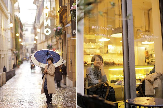 theClosetCatwalk, Uniqlo, black boots, camel trench coat, H&M, Rome, Italy, Honeymoon, Europe trip