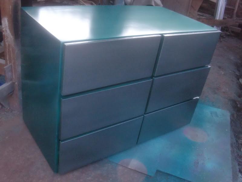Decoraciones manualidades en madera pintar un mueble con - Se puede pintar el aluminio ...