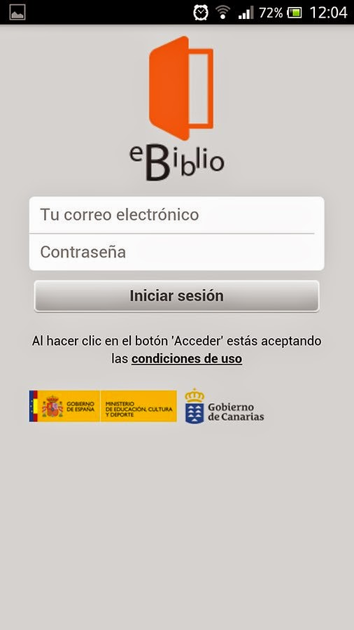 Préstamo de libros electrónicos, con eBiblio Canarias