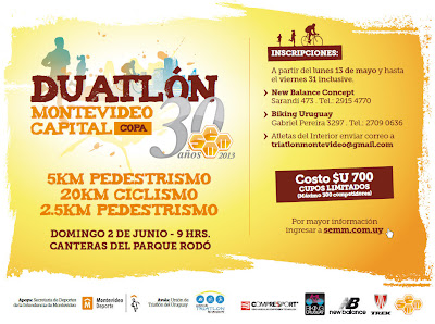 Duatlón Montevideo Capital (02/jun/2013)