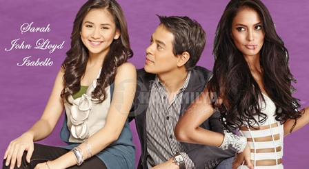 'It Takes A Man and  A Woman' starring John Lloyd Cruz and Sarah Geronimo with Isabelle Daza