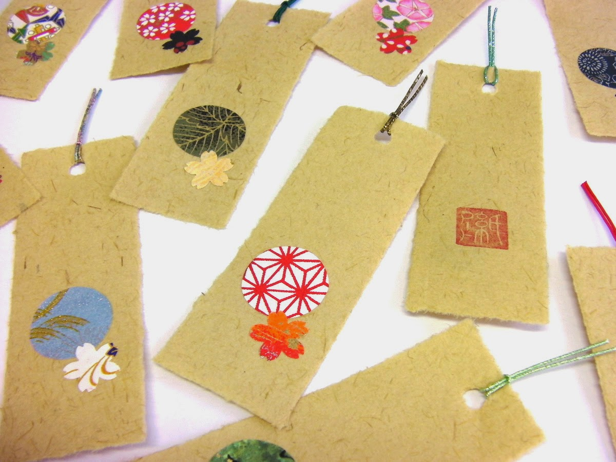 marque pages en yoshi washi papier en roseau de niigata kami art cr ation en papier. Black Bedroom Furniture Sets. Home Design Ideas
