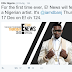 D'banj to become the first Nigerian to feature on E!