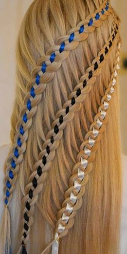 Ladder Braid Hairstyle Idea For Ladies