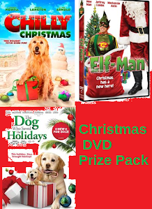 Christmas DVD Prize Pack Giveaway