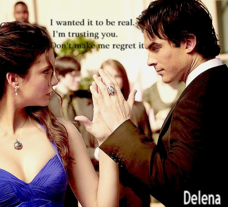 damon and elena real life dating
