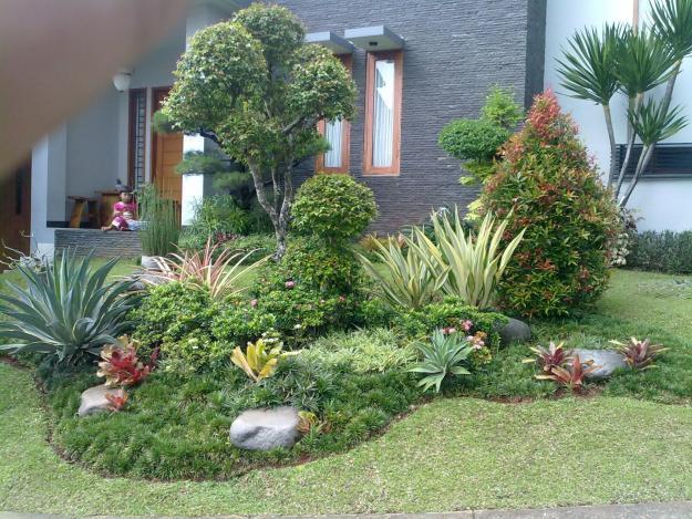 ... keindahan taman minimalis gambar cara membuat taman rumah minimalis