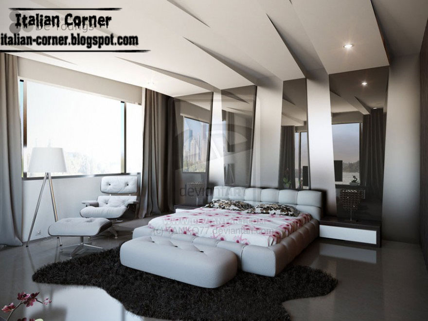 Modern italian bedroom designs ideas decorations for Modern interior bedroom designs