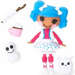 Lalaloopsy 3 Inch Mini Figure with Accessories Mittens Fluff n Stuff