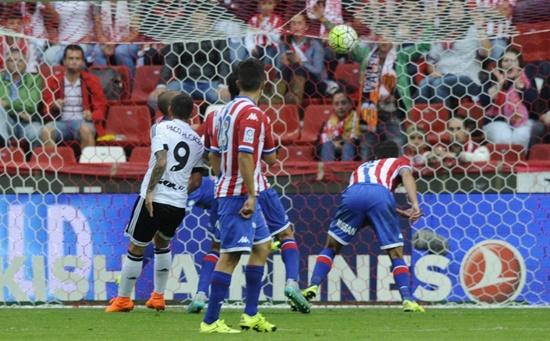 Sporting Gijón 0 x 1 Valencia - Campeonato Espanhol(La Liga) 2015/16