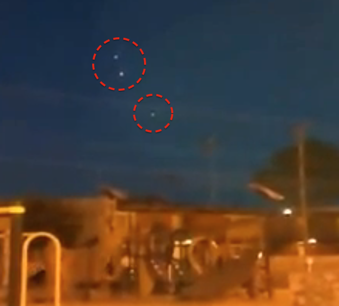 Pulsating UFO's Captured Above Texas, UFO Sightings
