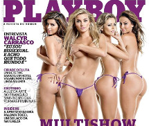 Gatas Casa Bonita Playboy Brasil Maio 2013