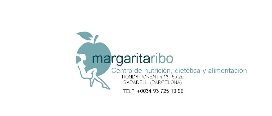 NUTRICION Y DIETETICA Margarita Ribo