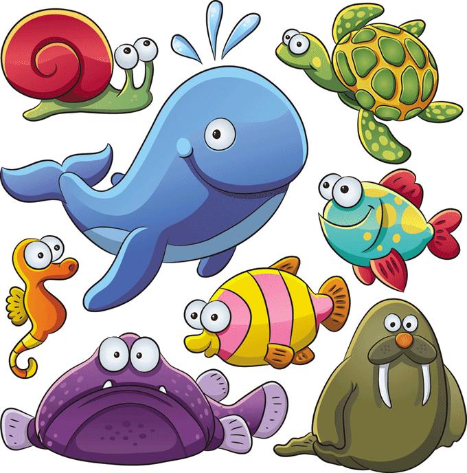 Imagenes infantiles de peces