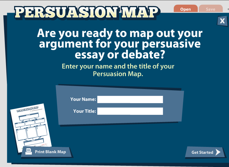 essay persuasion map How to begin a persuasive essay a persuasive essay is a piece of writing that  describes a particular perspective and provides evidence in support of that.