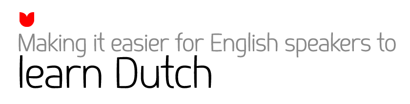Making it easier for English speakers to learn Dutch