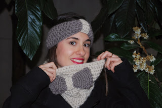snood drops andes tricot col