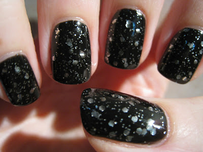 NYC-smoky-top-coat-black-with-silver-glitter
