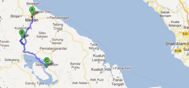 One day at a time Medan Berastagi Lake Toba Family Trip