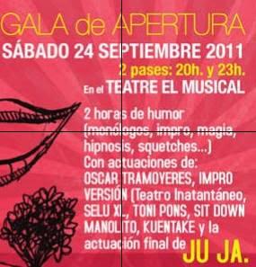 circuito cafe teatro valencia 2011-2012. Gala presentación