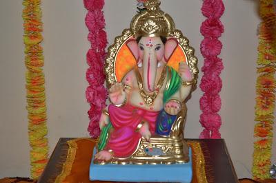 Lord Ganesha At Home
