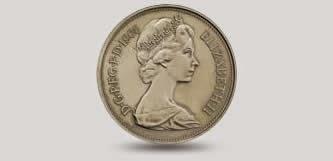 Queen Elizabeth coin portrait 2