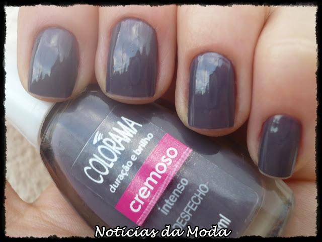 Esmalte Desfecho Colorama como esmalte da semana