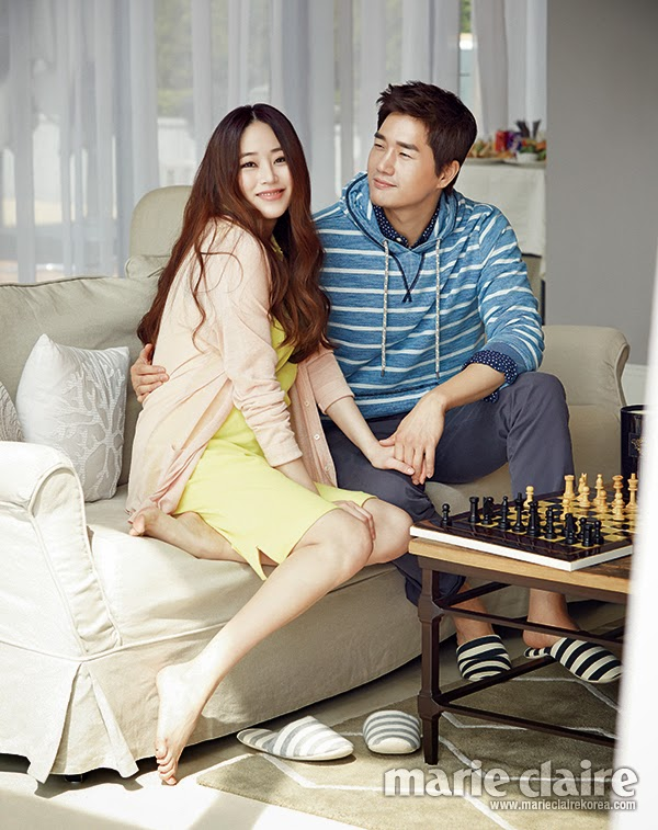 Kim Hyo Jin and Yoo Ji Tae - Marie Claire Magazine May Issue 2014