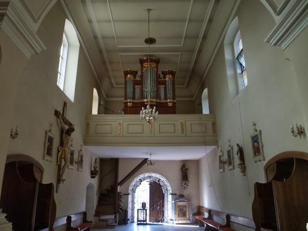 Kościół Narodzenia Najświętszej Marii Panny - wnętrze (fot. Adam Kaźmierczak)