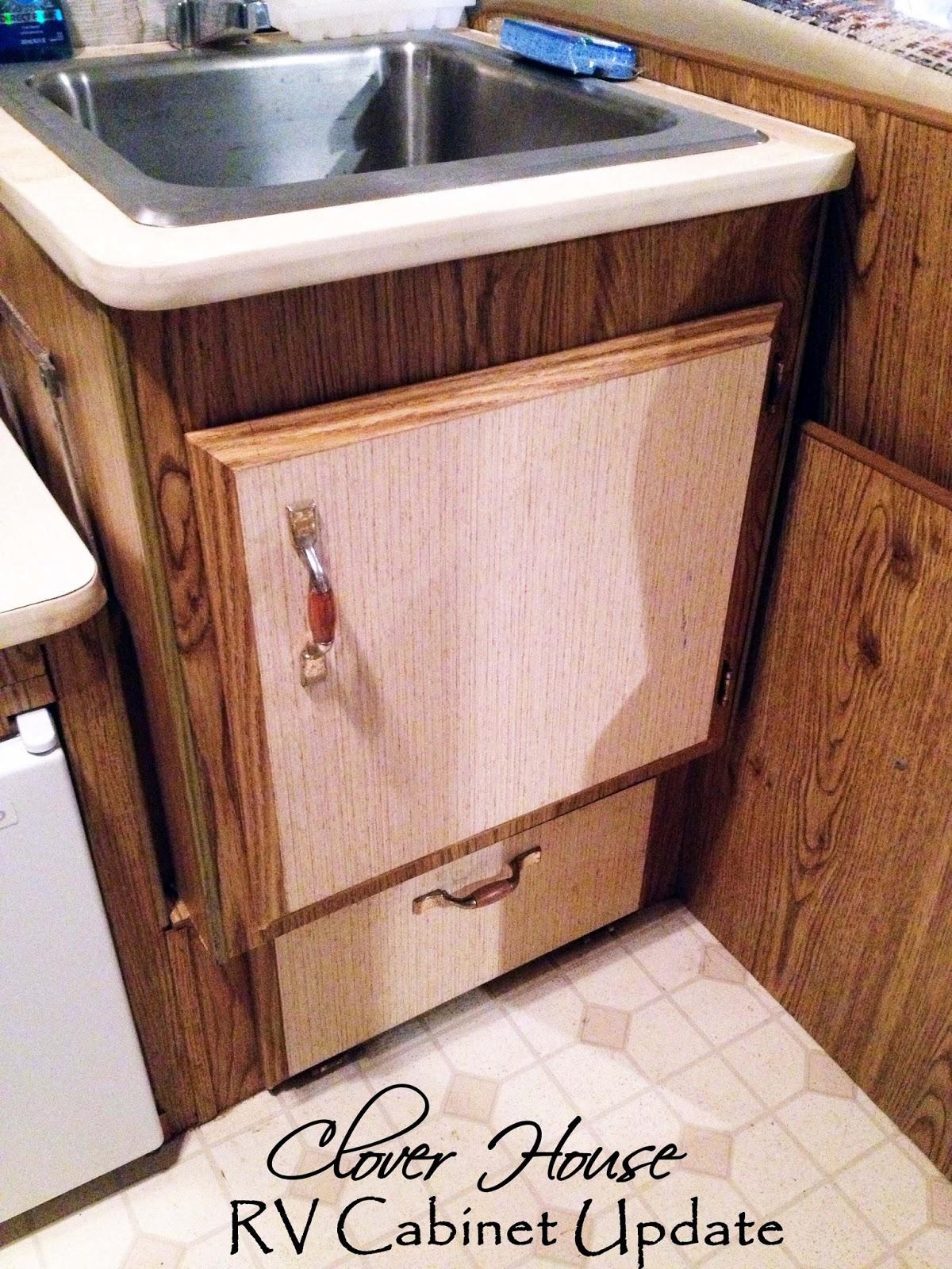 rv remodel on budget cabinet update rv kitchen cabinets RV Remodel on a Budget Cabinet Update