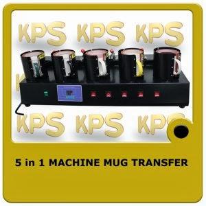 5 in 1 Machine Mug Transfer