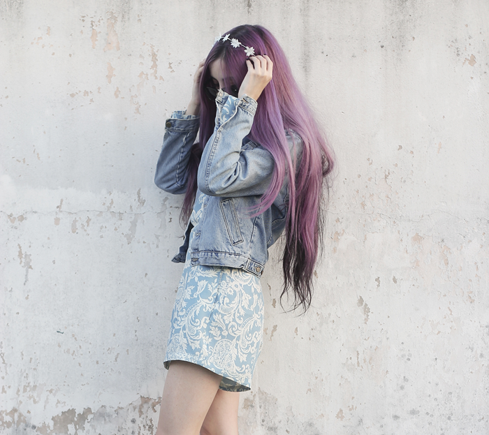 motel-rocks-paisley-playsuit-violet-hair-outfit