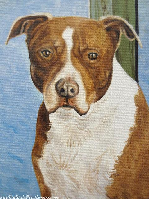 boomer, dog portrait, pet portrait, pup, puppy, dog painting, pet painting, pup painting, pet parent, dog memory, loving memory, realistic portrait, toronto portrait artist, malinda prudhomme, oil paint, acrylic paint, detailed artwork