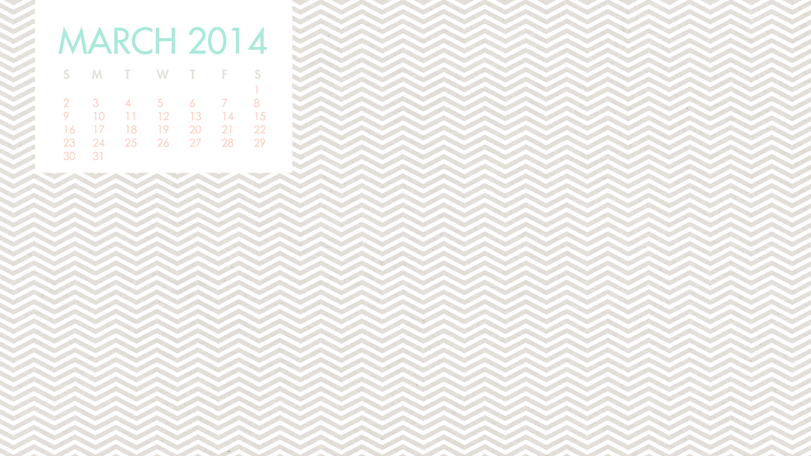 Free Desktop Calendar January 2014