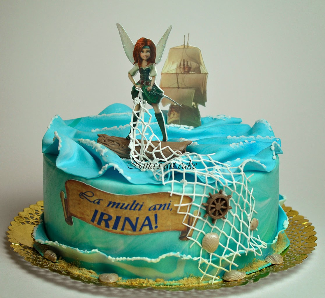 "Tort ""THE PIRATE FAIRY ( ZANA PIRAT)"" pentru Irina"