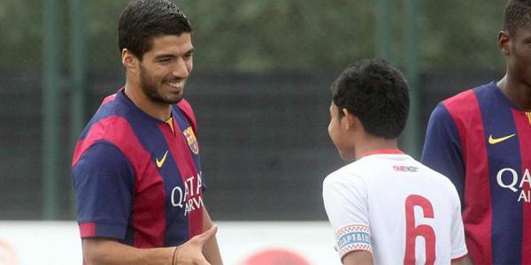 Evan Dimas: Feeling Saya Barcelona B