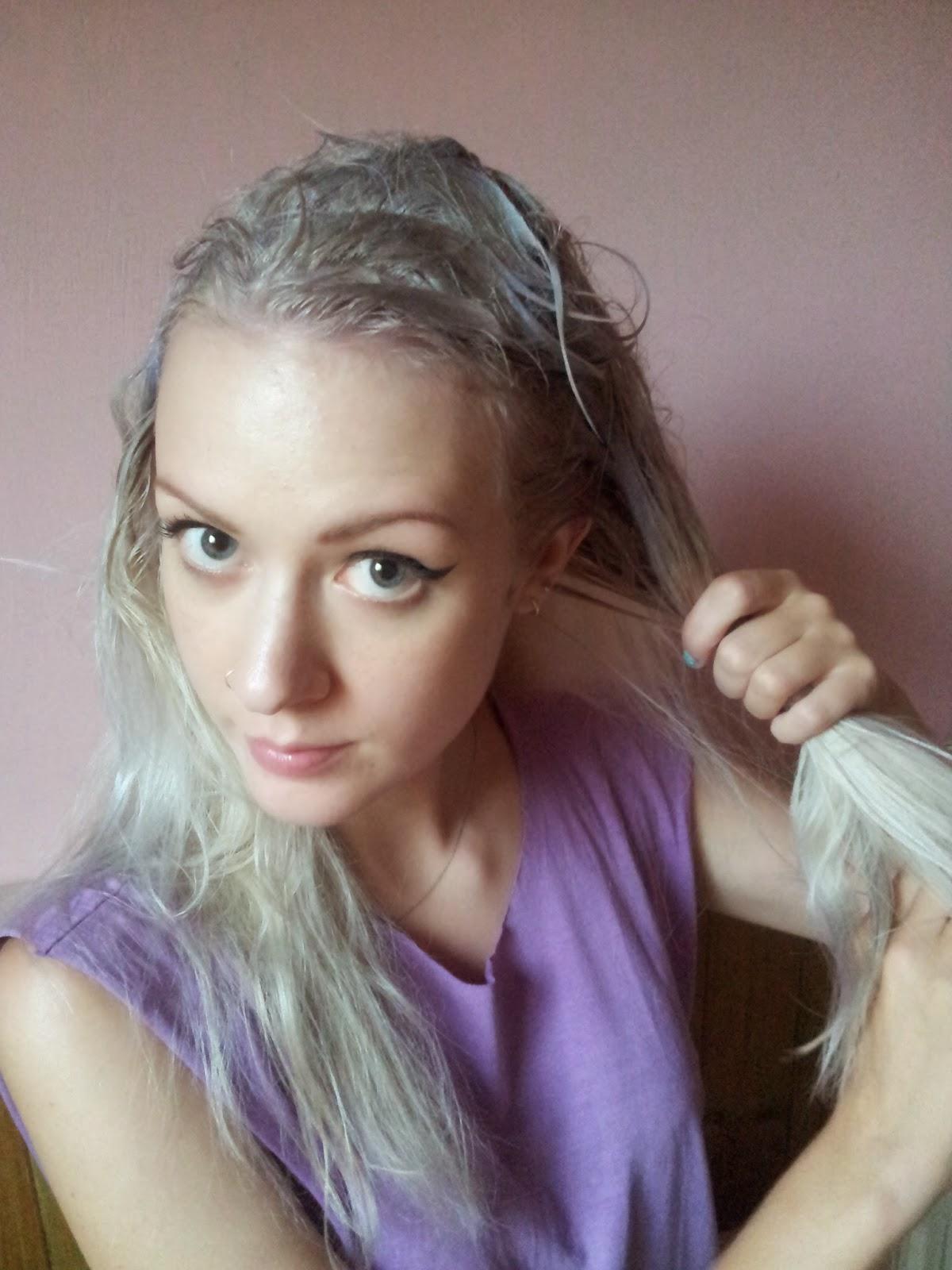 Idea You Gave Me A Fright Dear Mermaid Hair How I Dyed