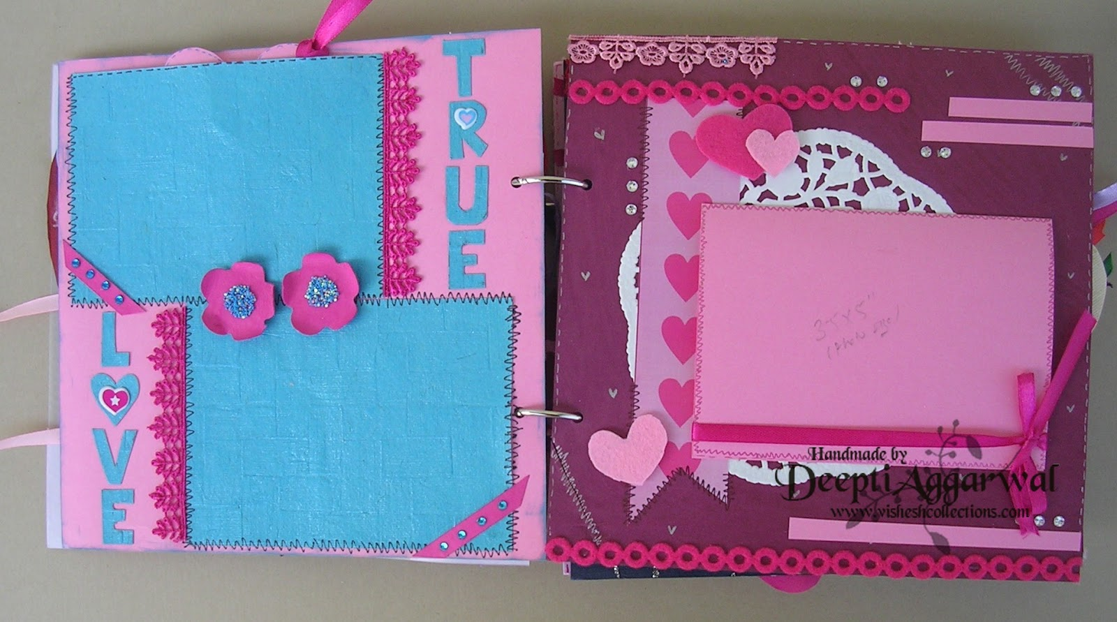 Scrapbook ideas for anniversary - First Anniversary Customized Scrapbook This Is How I Gift Wrap It