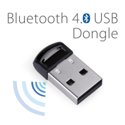 Avantree DG40S Bluetooth 4.0 USB Dongle Adapter for PC with Windows XP, 7, 8, 8.1, 10 and Vista system - Plug and Play on Win 7 and above - 2 Year Warranty