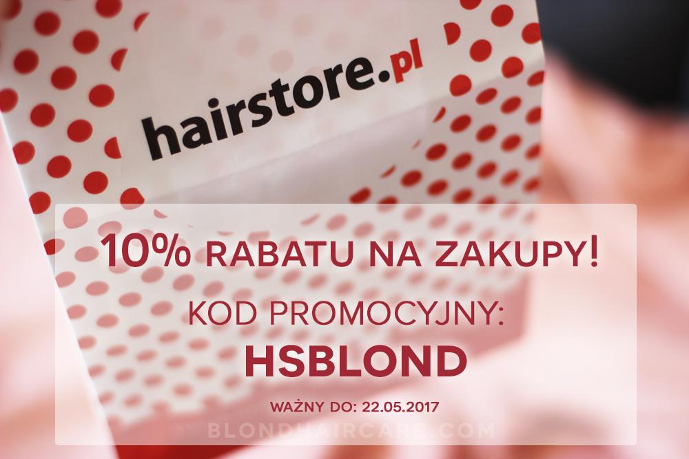 10% zniżki na zakupy w hairstore