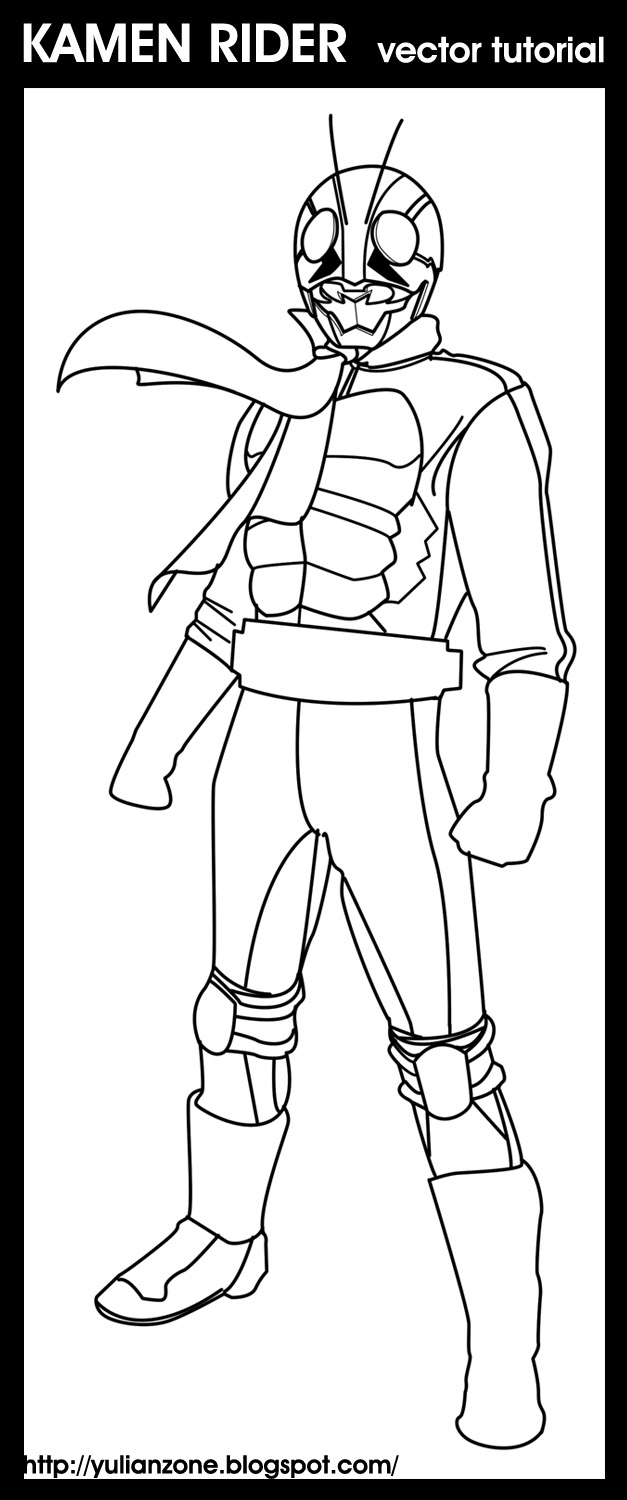 kamen rider coloring pages - photo#7