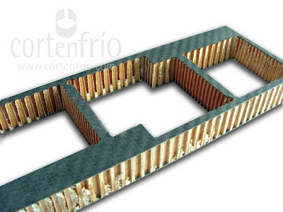 corte por agua fibra de carbono materiales especiales ingenieria