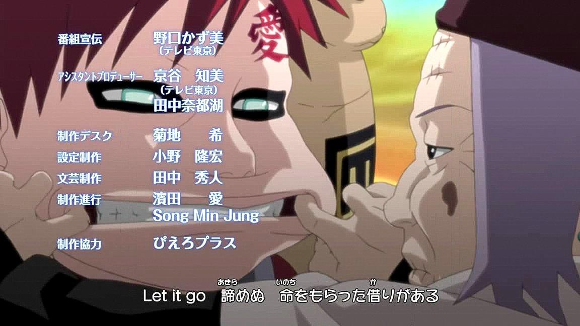 3 ending naruto